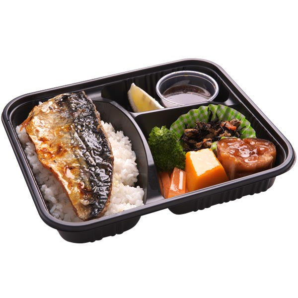 L005 鹽燒鯖魚便当 Grilled Mackerel Bento