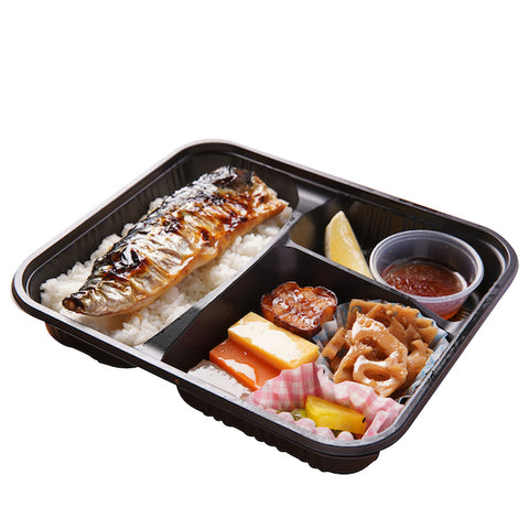 M005 鹽燒鯖魚弁当 Grilled Mackerel Bento