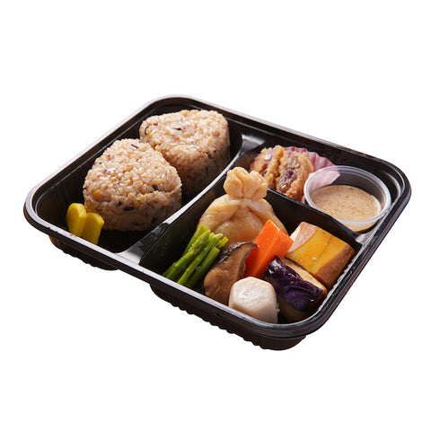 M007 十六穀米野菜懐石弁当	16 Grains Kaiseki Vegetarian Bento