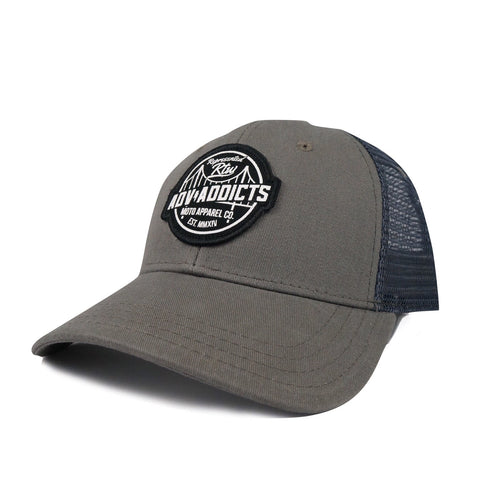 WANDERER MESH HAT - Charcoal Grey