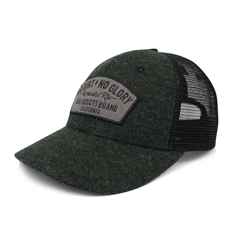 OUTRIDER MESH HAT - Hunter Green