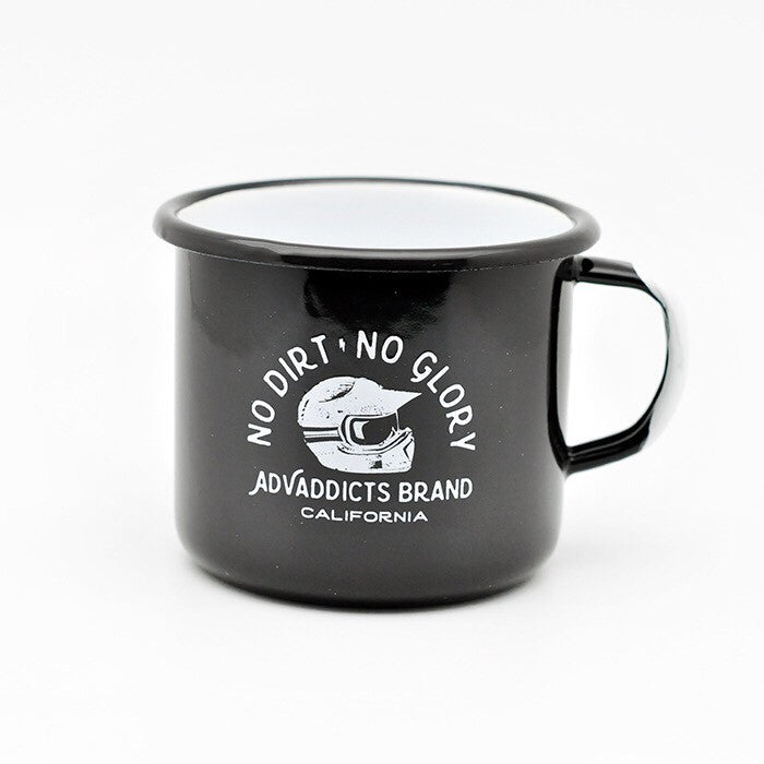 ADV ADDICTS Enamel Camp Mug