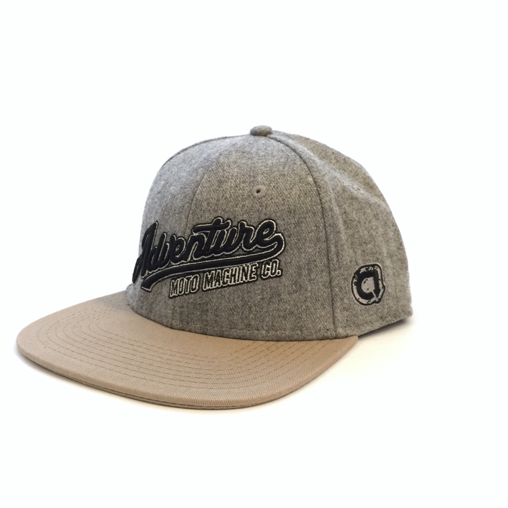 RAMBLE SNAP BACK - Heather Grey/Khaki