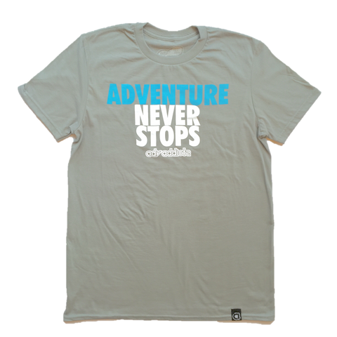 ADV NEVER STOPS TEE
