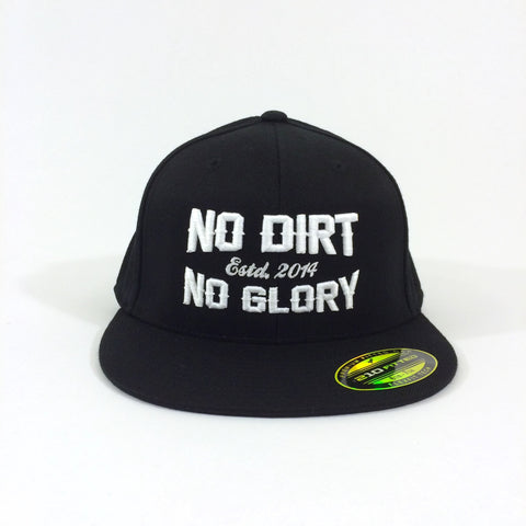 NO DIRT NO GLORY Flexfit 210 Cap