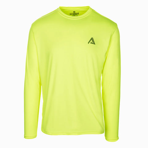 X-REFLECT 1.0 PERFORMANCE TEE LONG SLEEVE HI-VIZ