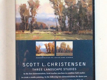 Scott Christensen Three Landscape Studies