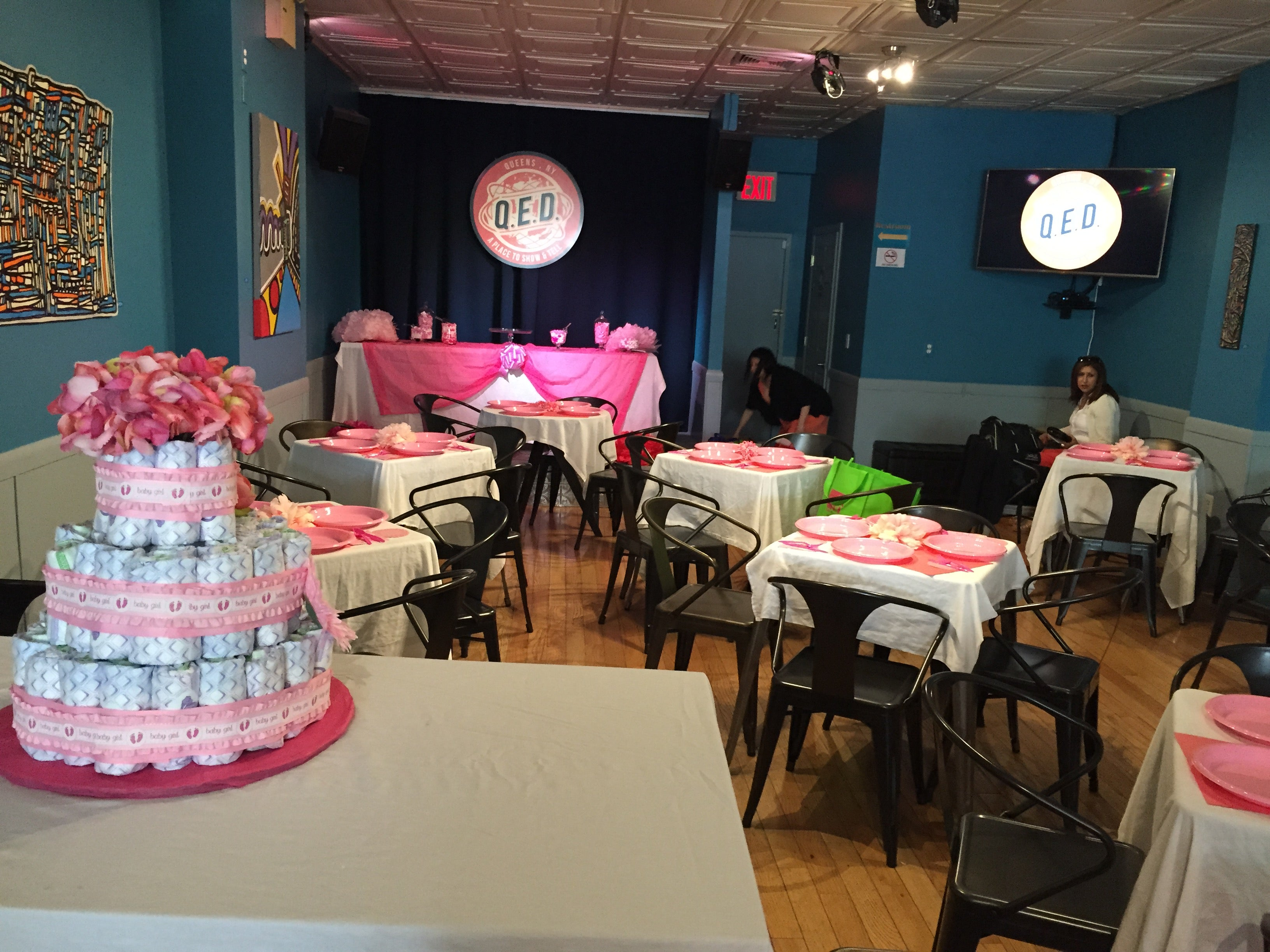 Private Parties Events Space Rental QED A Place to Show Tell