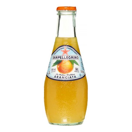 San Pellegrino Orange Sparkling Fruit Beverage (6.75oz Bottle)