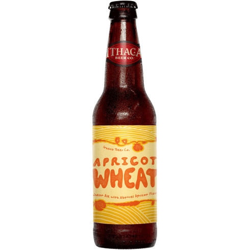 Apricot Wheat (12oz bottle) - Ithaca Beer Company