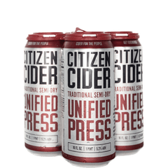 Citizens Unified Press Cider (16oz Can)