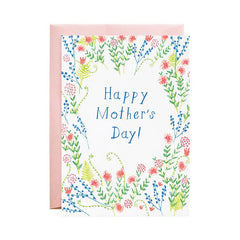 Mother's Day Wildflowers - Greeting Card