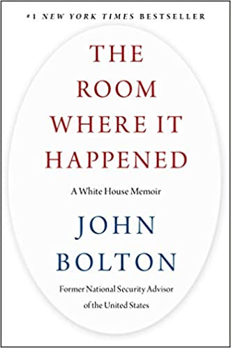 The Room Where It Happened: A White House Memoir (Hardcover)