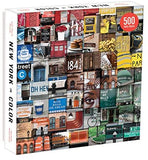 New York in Color 500-piece Jigsaw Puzzle