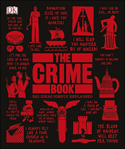True Crime Book (Big Ideas Simply Explained) by DK