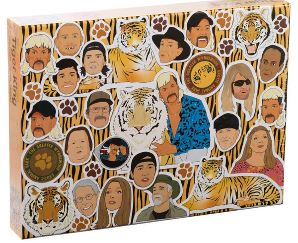 Tiger King Jigsaw Puzzle: 500 Piece Jigsaw Puzzle