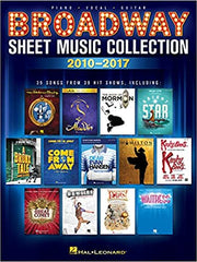 Broadway Sheet Music Collection: 2010-2017 (Paperback)