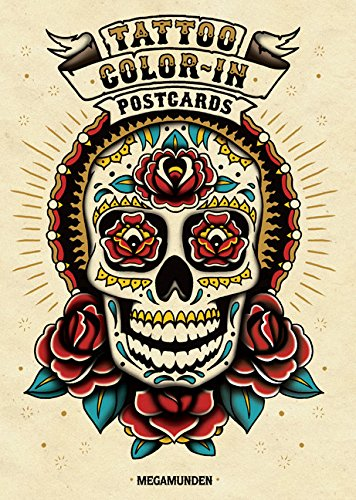 Tattoo Color In Postcards