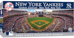 MasterPieces MLB New York Yankees Stadium Panoramic Jigsaw Puzzle, 1000-Piece