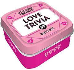 After Dinner Amusements: Love Trivia