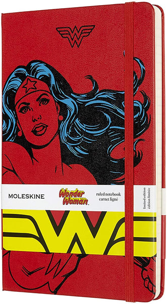 Moleskine Limited Edition Wonder Woman Notebook (Hardcover)