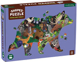 Woodland Forest Shaped 300-Piece Puzzle