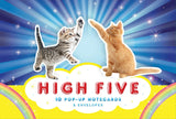 High Five Pop-Up Notecards: 10 Pop-up Notecards & Envelopes