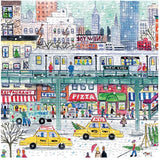 500 Piece Jigsaw Puzzle - NYC Subway by Michael Storrings