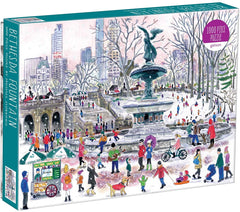 1000 Piece Jigsaw Puzzle - Michael Storrings Bethesda Fountain
