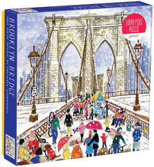 1000 Piece Jigsaw Puzzle - Michael Storrings Brooklyn Bridge