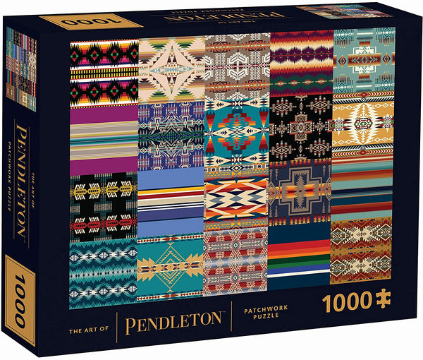The Art of Pendleton Patchwork1000-PIece Jigsaw Puzzle