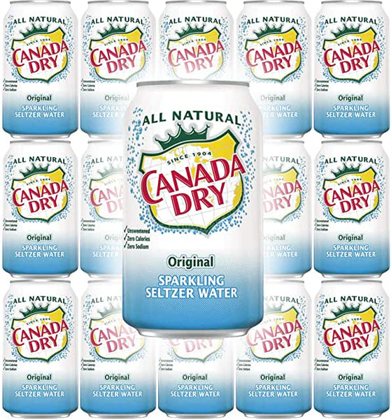 Canada Dry Seltzer (12oz Can)