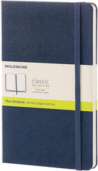 Moleskine Classic Notebook - Hardcover Plain - Various Colors