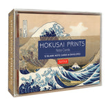 Hokusai Prints Note Cards: 12 Blank Note Cards & Envelopes