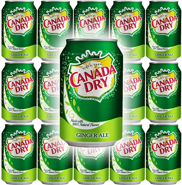 Canada Dry Gingerale (12oz Can)