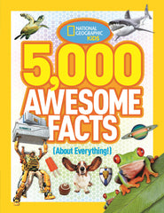 5,000 Awesome Facts (About Everything!) (National Geographic Kids) Hardcover