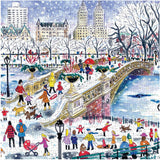 Michael Storrings 500 Piece Bow Bridge in Central Park Jigsaw Puzzle