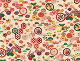 Japanese Kimono Gift Wrapping Papers: 12 Sheets of 18 x 24 inch Wrapping Paper