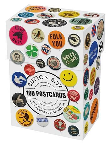 Button Box 100 Postcards