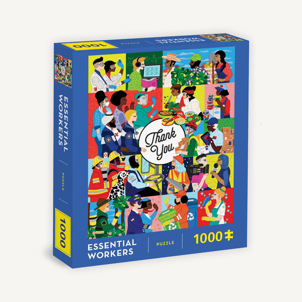 Essential Workers 1000-Piece Jigsaw Puzzle