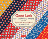Good Luck Gift Wrapping Papers : 6 Sheets of High-quality 24 X 18 Inch Wrapping Paper