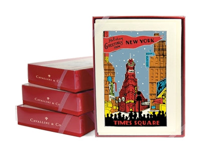 New York City Christmas Boxed Notes