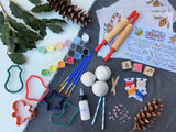 Holiday DIY Clay Ornament Kit - **LOCALLY MADE**