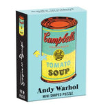 Andy Warhol 100-Piece Mini Shaped Puzzle Campbell's Soup