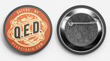 QED Magnets, Buttons or Stickers