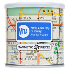 Magnetic Puzzle New York Subway