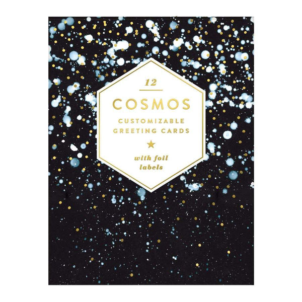 Cosmos DIY Greeting Card Set