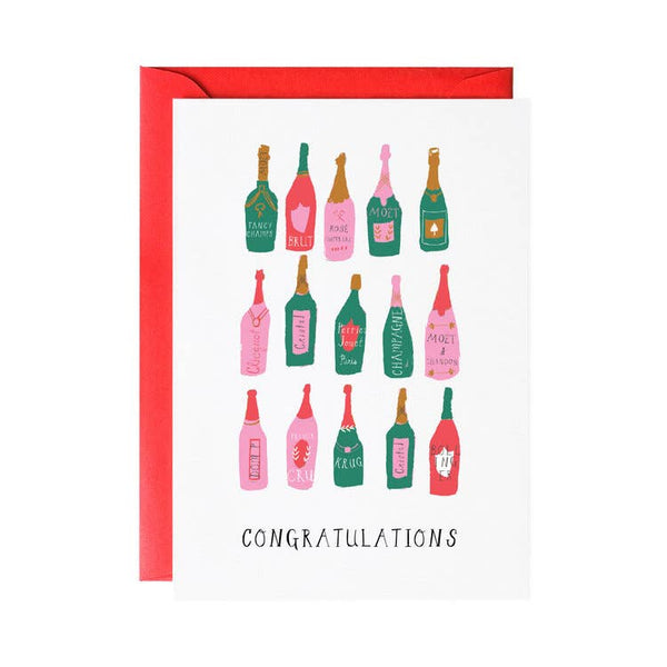 Pop the Bubbly! - Greeting Card