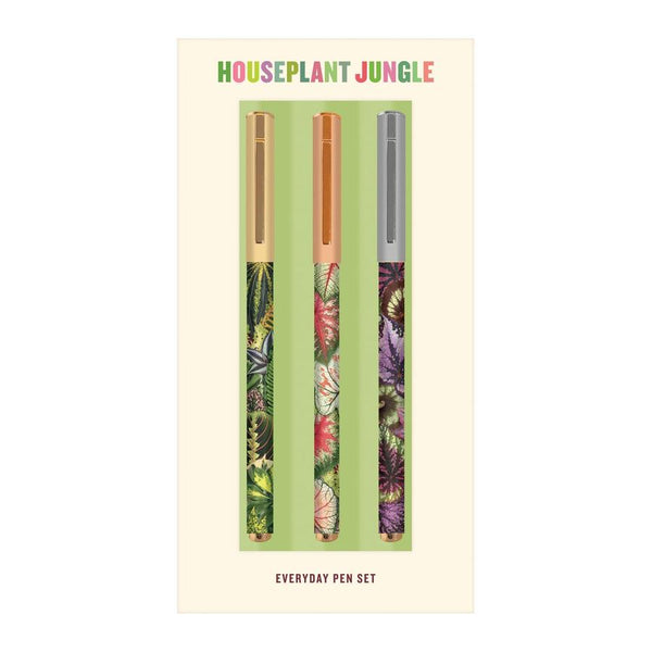 Pen Set Everyday Houseplant Jungle