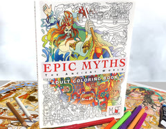 Epic Myths Coloring Book ***LOCAL ARTIST***